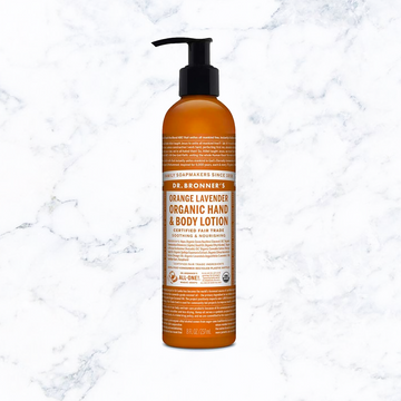Dr. Bronner's Orange Lavender Organic Body Lotion