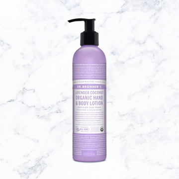 Dr. Bronner's Lavender-Coconut Organic Body Lotion