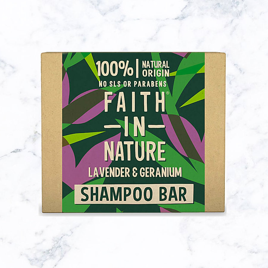 Faith in Nature Lavendar & Geranium Shampoo Bar