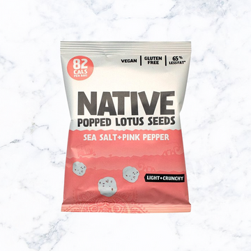 NATIVE Popped Lotus Seeds Pink Pepper & Sea Salt