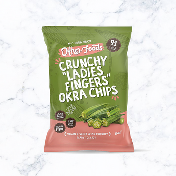 Other Foods Crunchy Okra Chips