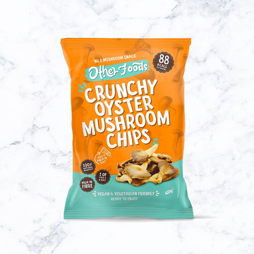 Other Foods Crunchy Oyster Mushrooms Chips