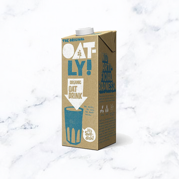 vegan sustainable plant based oat milk