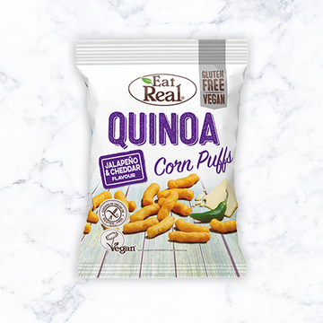 Eat Real Quinoa Jalopeno & Cheddar Corn Puffs