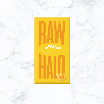 Raw Halo Mini Mylk & Salted Caramel