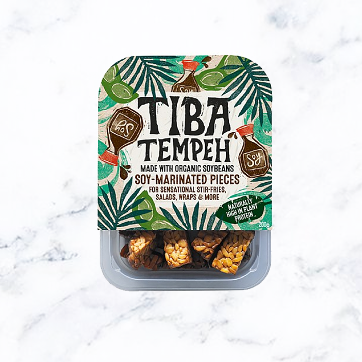 TIBA Tempeh Soy Marinated Pieces (08/03)