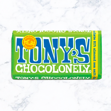 Tony's Chocolonely Almond & Sea Salt