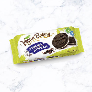 Vegan Bakery Cookies & Cream