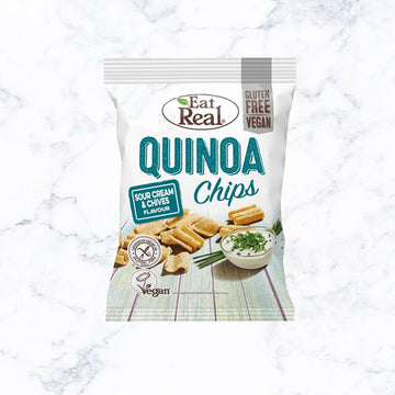 Eat Real Quinoa Sour Cream & Chives Chips