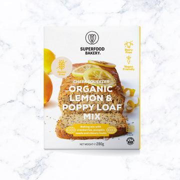 Superfood Bakery - Zesty Cheer Organic Lemon & Poppy Loaf Mix
