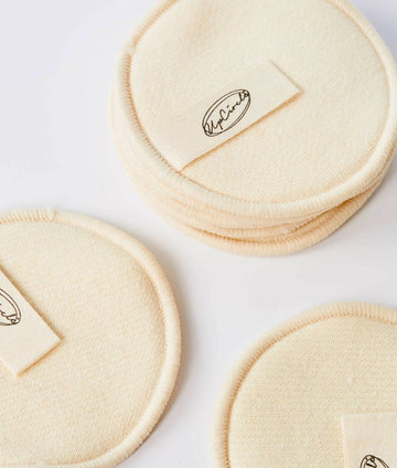 UpCircle Hemp & Cotton Reusable Makeup Pads