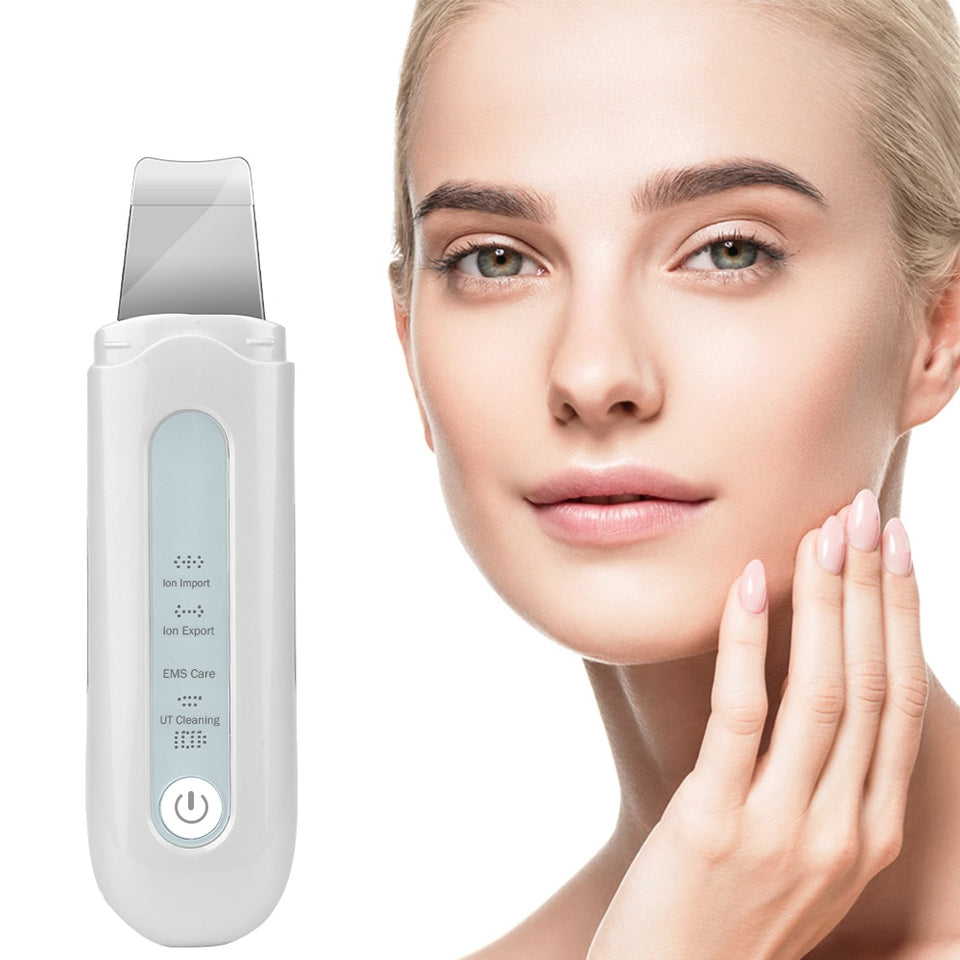 Ultrasonic Face Cleaning Machine SPA Spatula