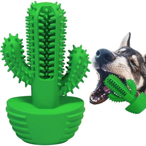 The Cleaning Cactus Dog Brush