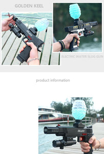 Electric Gun Gel Ball Gun Water Bullet Air gun Pistol bb Gun Outdoor Game Airsoft Air Bb Gun Boy Toys Weapon Fake Gun