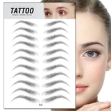 4D Eyebrow Sticker