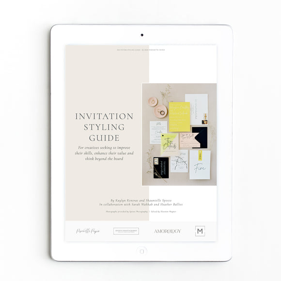 Invitation Styling Guide