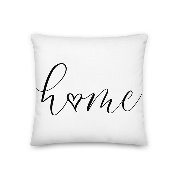 Heart is Home Pillow