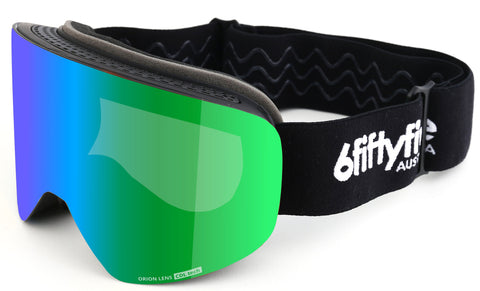 6fiftyfive Ski Goggles - Cylindrical multilayer magnetic lens