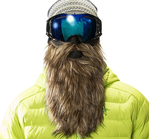 6fiftyfive ski goggles - don't tuck in your balaclava