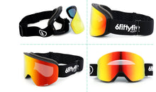Load image into Gallery viewer, 6fiftyfive Unisex Red Orion Lens Frameless Magnetic Ski Goggles