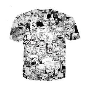 T-shirt Enfant - My Hero Academia - Visages