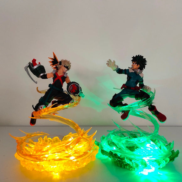 Figurines Battle - My Hero Academia Bakugou Katsuki VS Midoriya Izuku