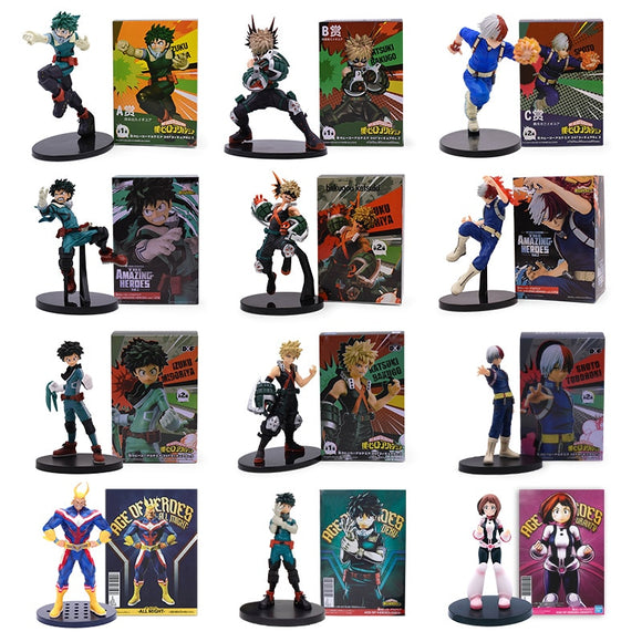 Figurines My Hero Academia - Age Of Heroes / The Amazing Heroes