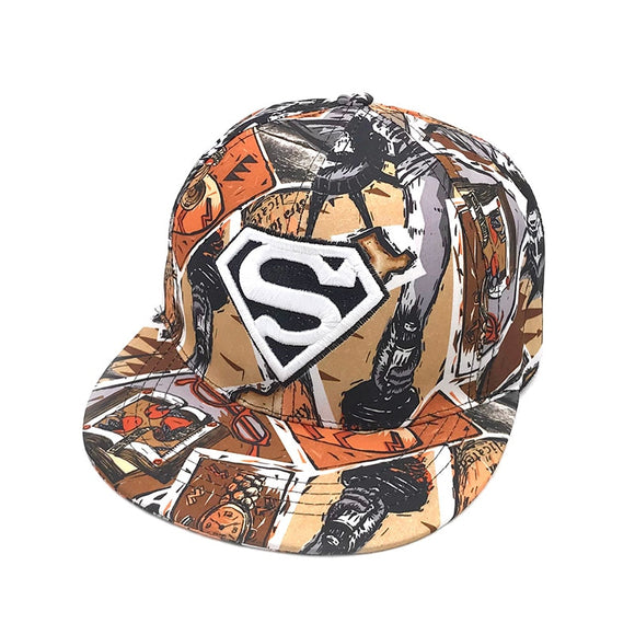 Casquette Superman Snapback - Graffiti