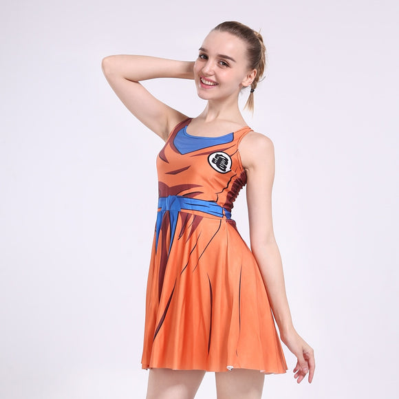 Costume Dragon Ball Z Robe femme