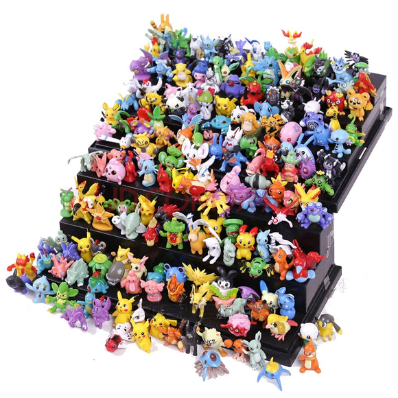 Lots de 72 Pcs à 144 Pcs - Mini Pokemon