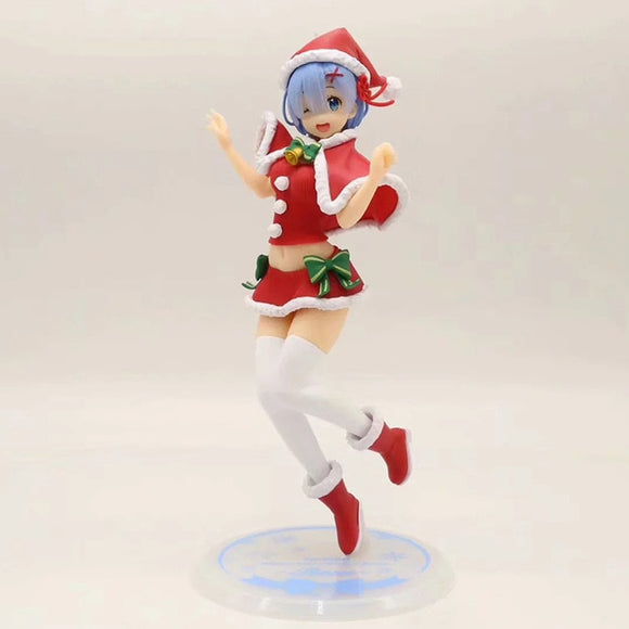 Figurine Re:Life In A Different World From Zero EXQ Rem - Xmas Edition