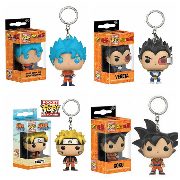 Porte-clé POP Dragon Ball & NARUTO