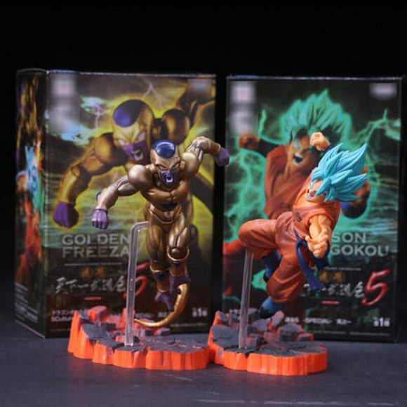 FIGURINE - Dragon Ball Z Freezer VS Goku