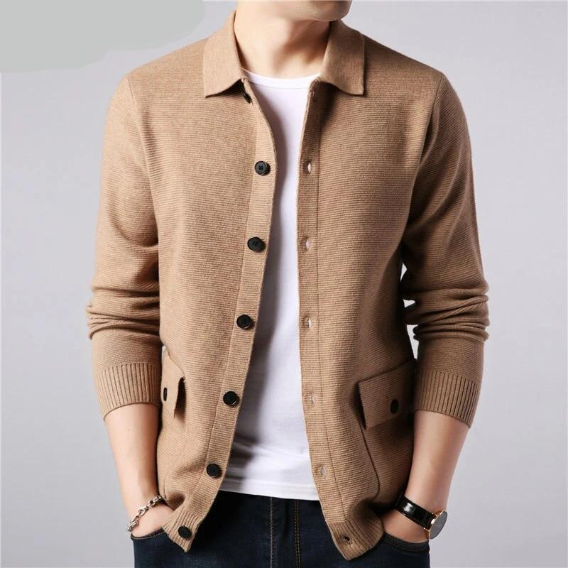 FASHION WOOLEN CARDIGAN (4 COLORS)