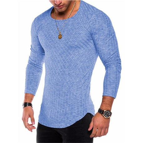 CASUAL LONG SLEEVE (6 COLORS)