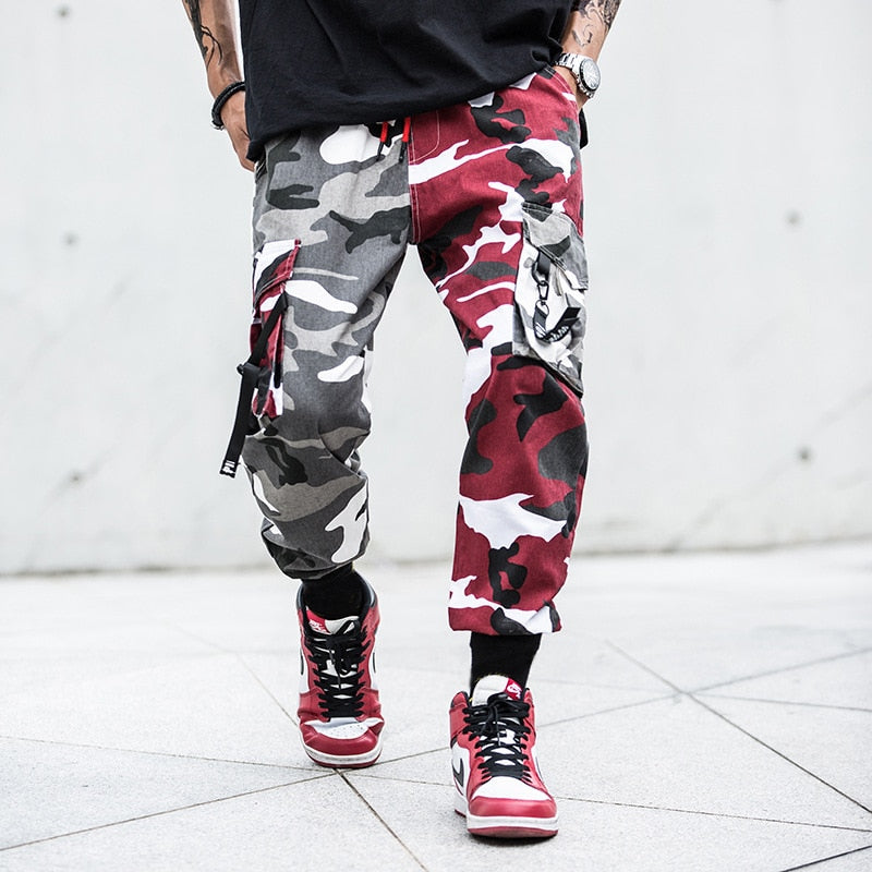 VS 'SPLITXCAMO' CARGO PANTS