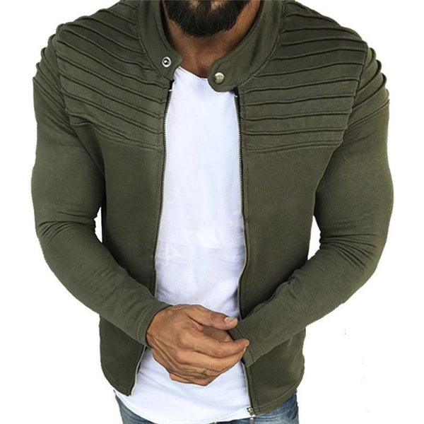 URBAN FASHION ZIPPER CARDIGAN (6 COLORS)
