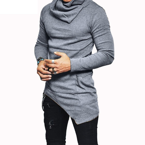 DESIGN HIGH-NECKED TURTLENECK (3 COLORS)