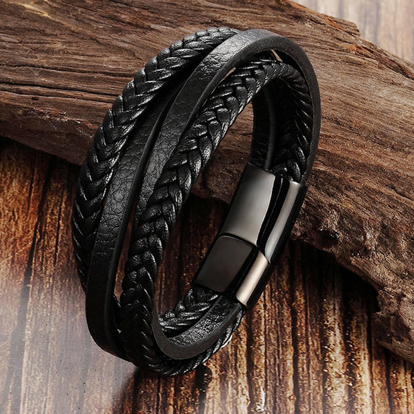 LEATHER BRACELET (6 COLORS)