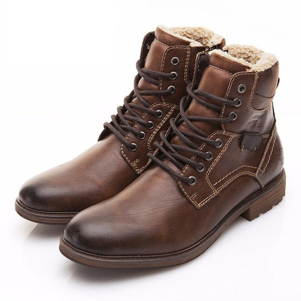 VINTAGE ANKLE BOOTS (2 COLORS)