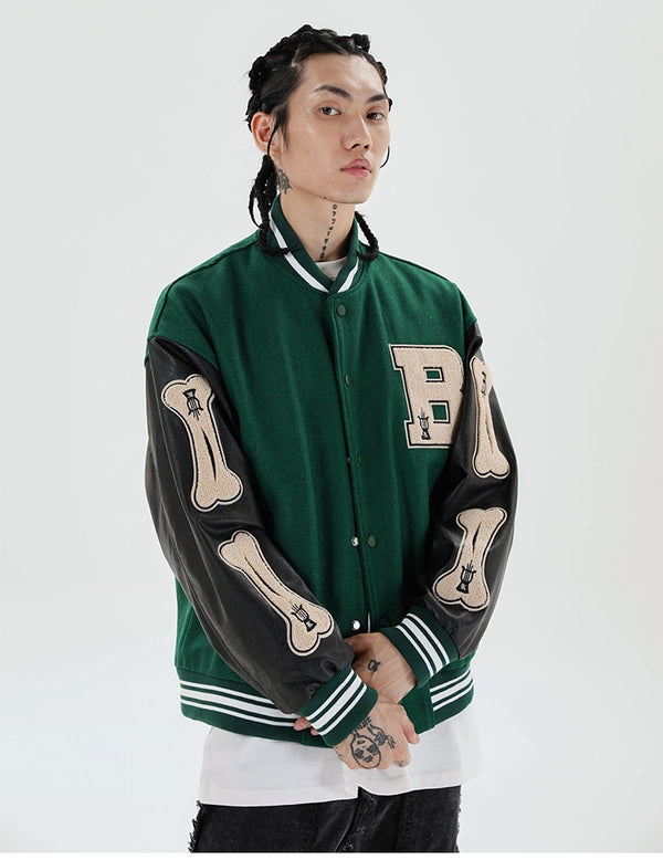 College Style Bomber