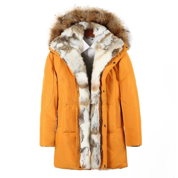 Nylon Winter Parka