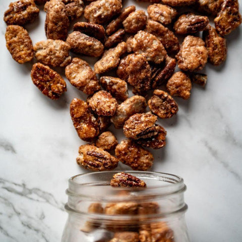 Toffee Toasted Pecans