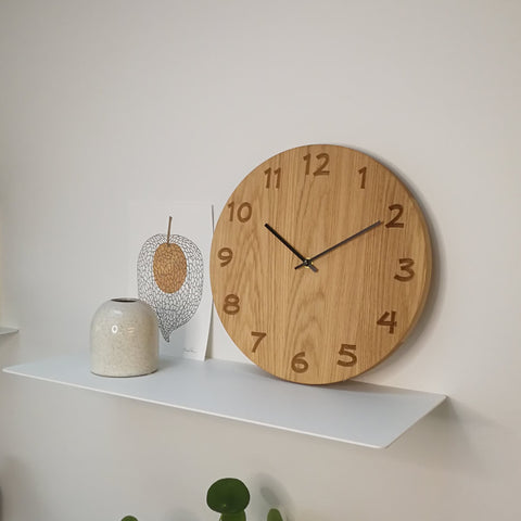 Large wall clock - Mathis with black hands