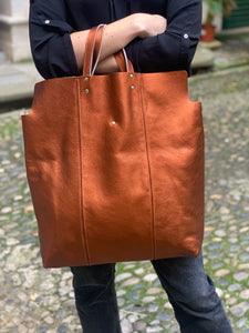 Sac oversize Rouille
