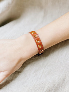 Bracelet simple tour Cycle Camel, sans soie