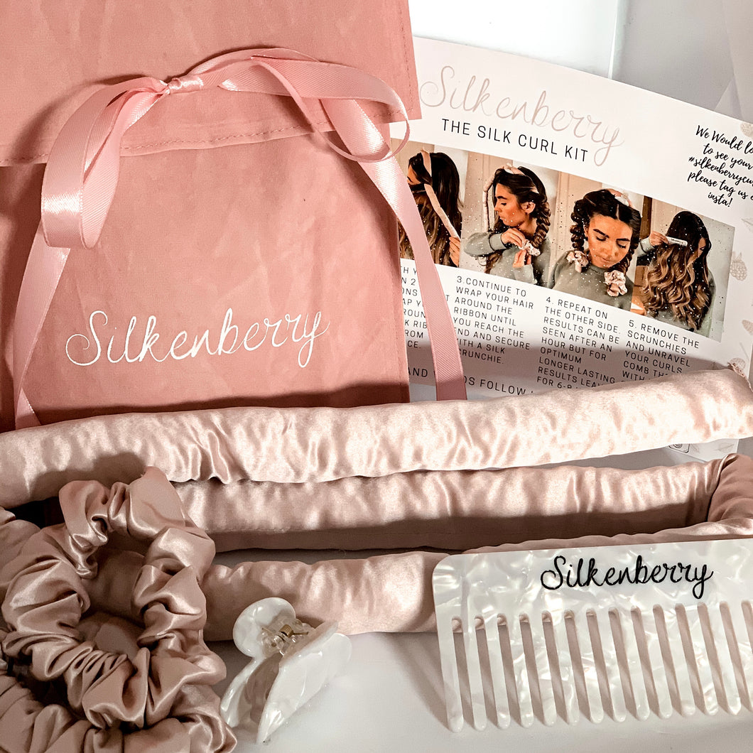 Pre Order: The Silk Heatless Curl Kit