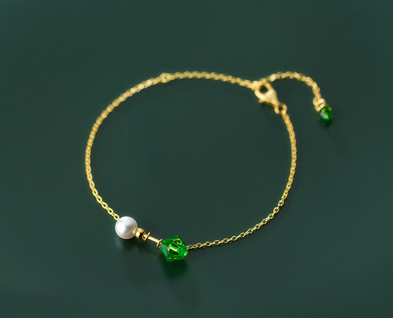 Pearl simple bracelet