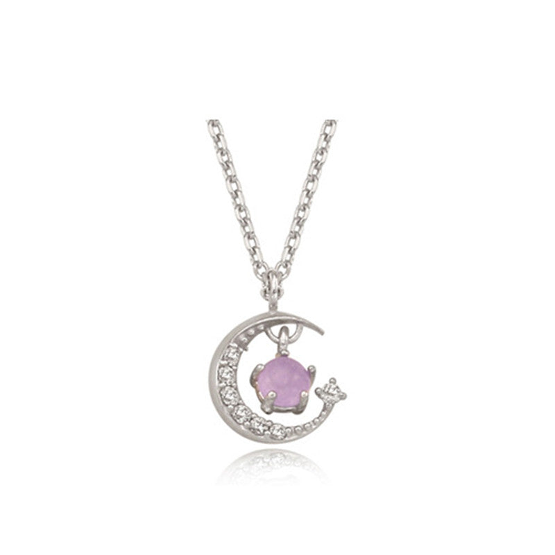 Variety Sakura Moon Sun Clavicle Necklace Pendant