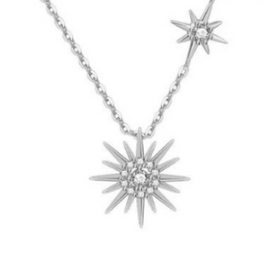 Sun Pendant in Sterling Silver